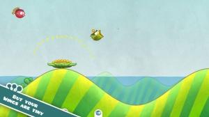 iPhone、iPadアプリ「Tiny Wings」のスクリーンショット 2枚目