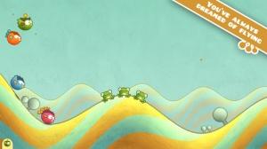iPhone、iPadアプリ「Tiny Wings」のスクリーンショット 1枚目