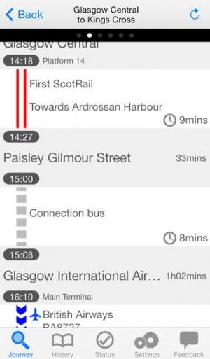 iPhone、iPadアプリ「Journey Pro Ad-Free - London UK by NAVITIME」のスクリーンショット 3枚目