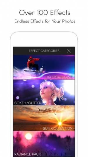iPhone、iPadアプリ「LensLight Visual Effects」のスクリーンショット 4枚目