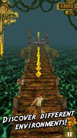 iPhone、iPadアプリ「Temple Run: Classic」のスクリーンショット 4枚目