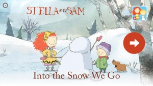 iPhone、iPadアプリ「Into the Snow: A Stella and Sam Adventure」のスクリーンショット 1枚目