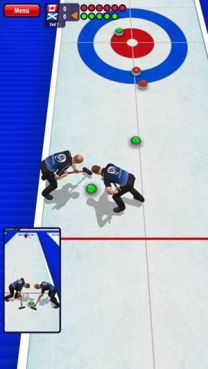 iPhone、iPadアプリ「Curling3D」のスクリーンショット 3枚目