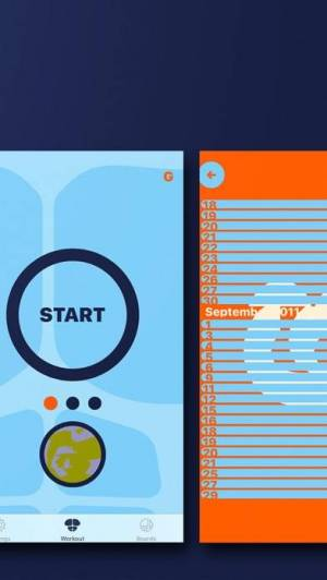 iPhone、iPadアプリ「365日 腕立てアプリ|続く筋トレ」のスクリーンショット 2枚目