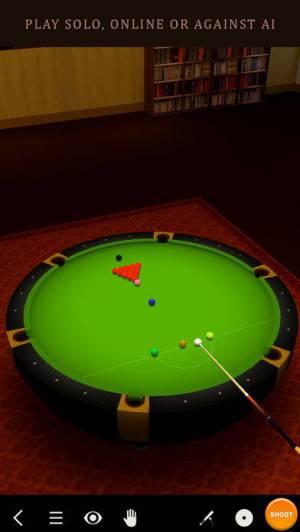 iPhone、iPadアプリ「Pool Break - 3Dビリヤードやスヌーカー」のスクリーンショット 1枚目