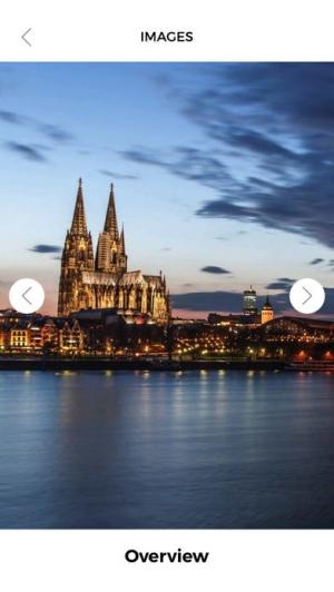 iPhone、iPadアプリ「ケルン 旅行 ガイド &マップ」のスクリーンショット 3枚目
