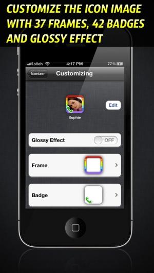 iPhone、iPadアプリ「アイコンdeダイヤル - Iconizer」のスクリーンショット 4枚目