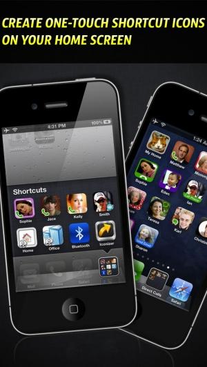 iPhone、iPadアプリ「アイコンdeダイヤル - Iconizer」のスクリーンショット 1枚目