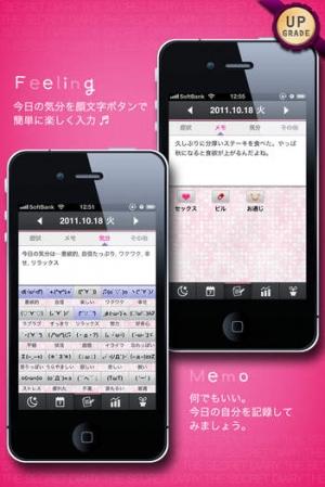 iPhone、iPadアプリ「The Secret Diary」のスクリーンショット 5枚目
