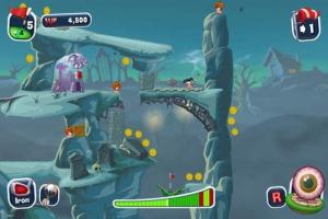 iPhone、iPadアプリ「Worms Crazy Golf」のスクリーンショット 3枚目