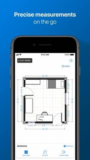 iPhone、iPadアプリ「magicplan」のスクリーンショット 2枚目