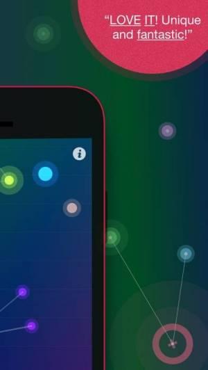 iPhone、iPadアプリ「NodeBeat - Playful Music」のスクリーンショット 3枚目