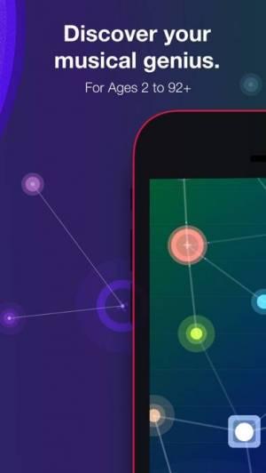 iPhone、iPadアプリ「NodeBeat - Playful Music」のスクリーンショット 2枚目