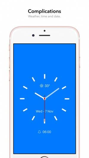 iPhone、iPadアプリ「顔時計」のスクリーンショット 3枚目