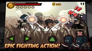 iPhone、iPadアプリ「KungFu Warrior」のスクリーンショット 2枚目