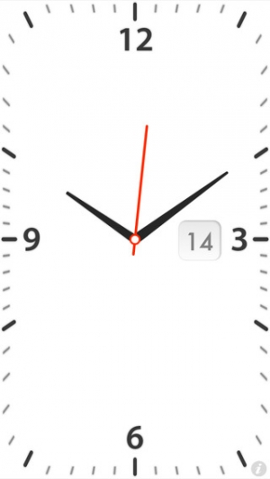 iPhone、iPadアプリ「Quick Alarm: Nightstand Clock」のスクリーンショット 2枚目