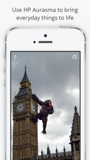 iPhone、iPadアプリ「Aurasma」のスクリーンショット 1枚目
