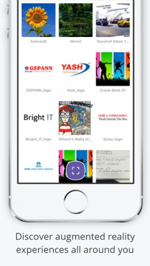 iPhone、iPadアプリ「Aurasma」のスクリーンショット 2枚目