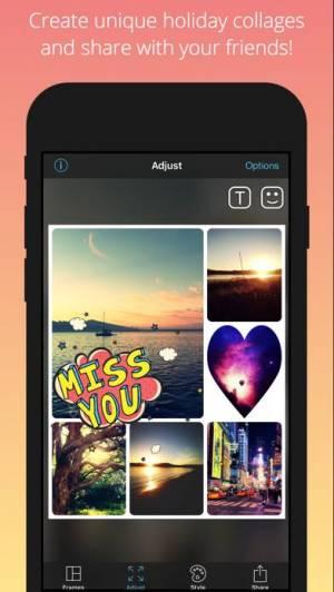 iPhone、iPadアプリ「PicFrame」のスクリーンショット 5枚目