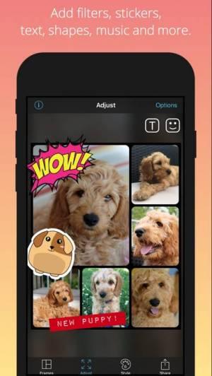 iPhone、iPadアプリ「PicFrame」のスクリーンショット 1枚目
