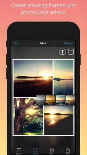 iPhone、iPadアプリ「PicFrame」のスクリーンショット 2枚目