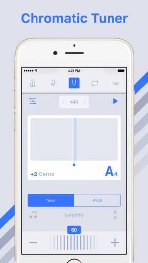 iPhone、iPadアプリ「メトロノーム+」のスクリーンショット 3枚目