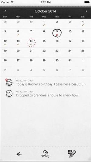 iPhone、iPadアプリ「マイワンダフルデイズ : My Wonderful Days」のスクリーンショット 3枚目