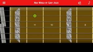 iPhone、iPadアプリ「エレキギター!」のスクリーンショット 1枚目
