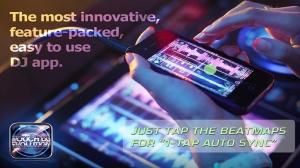 iPhone、iPadアプリ「Touch DJ™ Evolution - Visual Mixing, Key Lock, AutoSync」のスクリーンショット 1枚目
