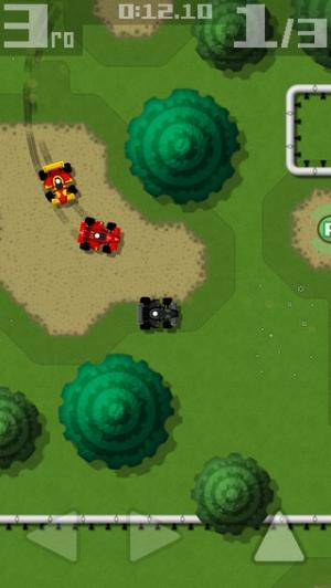 iPhone、iPadアプリ「Retro Racing」のスクリーンショット 3枚目
