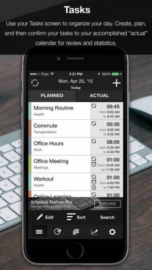iPhone、iPadアプリ「Schedule Planner」のスクリーンショット 1枚目