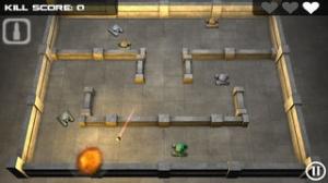 iPhone、iPadアプリ「Tank Hero」のスクリーンショット 2枚目