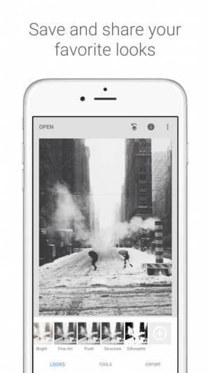 iPhone、iPadアプリ「Snapseed」のスクリーンショット 1枚目