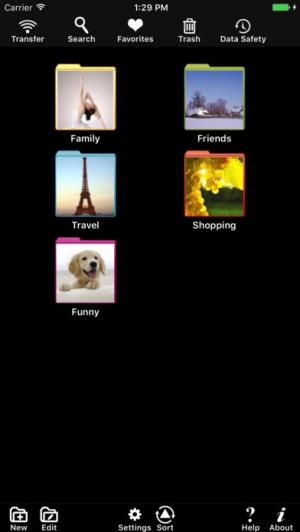 iPhone、iPadアプリ「Private Photo」のスクリーンショット 1枚目