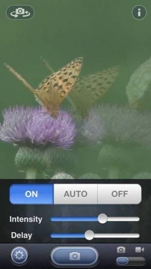 iPhone、iPadアプリ「残像カメラ」のスクリーンショット 3枚目
