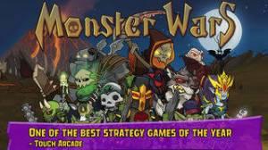 iPhone、iPadアプリ「Monster Wars」のスクリーンショット 1枚目