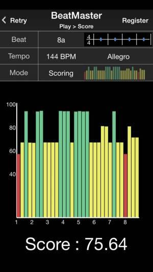 iPhone、iPadアプリ「BeatMaster Free Edition」のスクリーンショット 2枚目