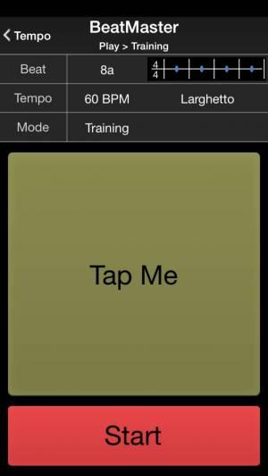 iPhone、iPadアプリ「BeatMaster Free Edition」のスクリーンショット 1枚目