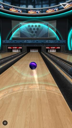 iPhone、iPadアプリ「Bowling Game 3D」のスクリーンショット 5枚目