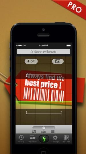 iPhone、iPadアプリ「クイックスキャンPro – QR/バーコードスキャナー」のスクリーンショット 1枚目