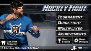 iPhone、iPadアプリ「Hockey Fight Lite」のスクリーンショット 2枚目