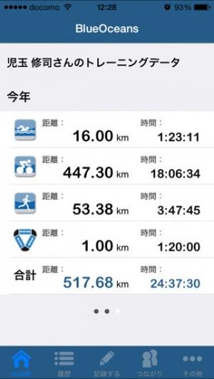 iPhone、iPadアプリ「BLUEOCEANS」のスクリーンショット 1枚目
