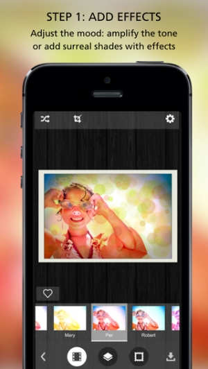 iPhone、iPadアプリ「Pixlr-o-matic」のスクリーンショット 2枚目