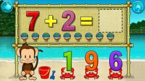 iPhone、iPadアプリ「Monkey Math School Sunshine」のスクリーンショット 3枚目