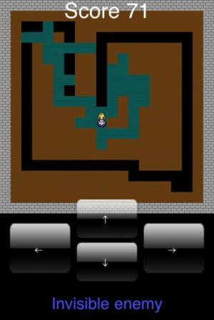 iPhone、iPadアプリ「見えない敵」のスクリーンショット 1枚目