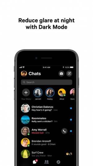 iPhone、iPadアプリ「Messenger」のスクリーンショット 2枚目