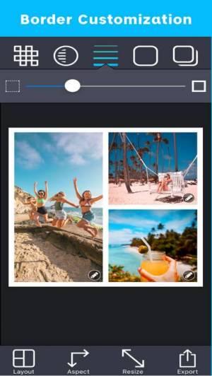 iPhone、iPadアプリ「Pic Stitch」のスクリーンショット 4枚目