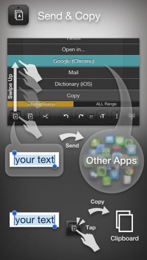 iPhone、iPadアプリ「Writron : リトロン テキスト ライター」のスクリーンショット 3枚目