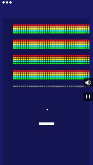iPhone、iPadアプリ「Many Bricks Breaker」のスクリーンショット 1枚目