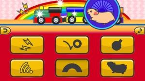 iPhone、iPadアプリ「のりもの - でんしゃ :  コドモアプリ 第1弾」のスクリーンショット 4枚目
